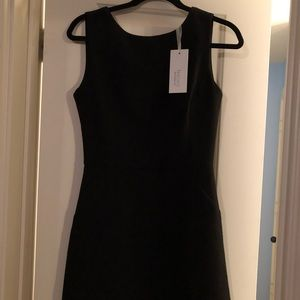 New Lucy Paris black dress v back S cutout